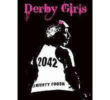 Derby Girls Photographic Print