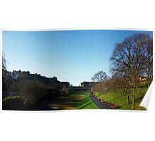 Princess Street Gardens, Edinburgh Poster
