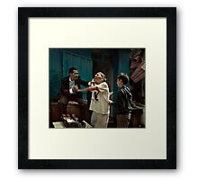 Young forever Framed Print