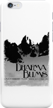dharma bums - matterhorn peak by dennis william gaylor