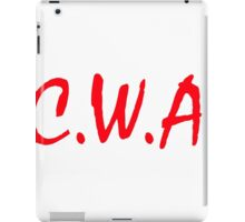 C. W. A. Crackas Wit Attitudes iPad Case/Skin