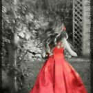 Running in Red by Astrid Ewing Photography
