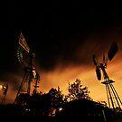 night mills by Richard Adcock