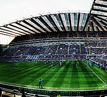 St James' Park, Newcastle United Panoramic by Jimmy McIntyre
