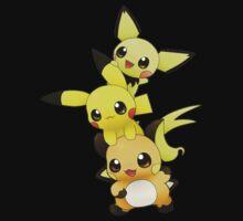 pokemon pikachu by selasaini