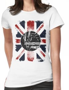 God Save the Alien Queen Womens Fitted T-Shirt