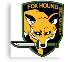 Metal Gear Solid - Foxhound Canvas Print