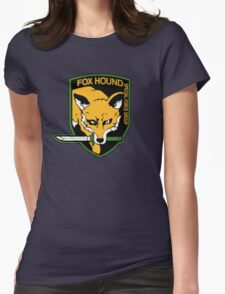 Metal Gear Solid - Foxhound Womens Fitted T-Shirt