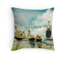 Keep You're Head In The Clouds Throw Pillow