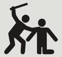 Pictogram man attack! by inspctrspactime