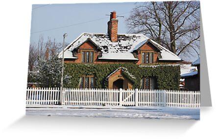 Woodbine Cottage Wiseton by John Dunbar