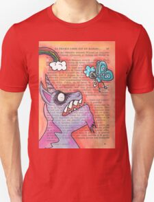 Butterfly Vs Unicorn T-Shirt