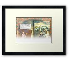 Happy Birthday Vigor Framed Print