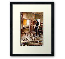 Self-Perspective Framed Print