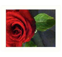 All mankind love a lover. Ralph Waldo Emerson... Art Print