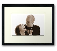 Kerry and Liam Framed Print