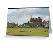 The Old Course, St Andrews, British Open Greeting Card