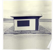 Seaside Architecture Poster