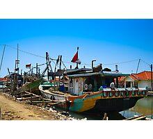 Fishermen's Boat Photographic Print
