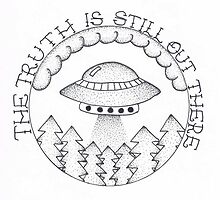 "The X-Files ""The Truth Is Still Out There"" by Maya Clarke"