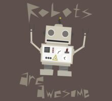 Robots Are Awesome Baby Tee