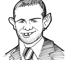 Caricature - Wayne Rooney by Jan Szymczuk