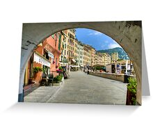Camogli Greeting Card