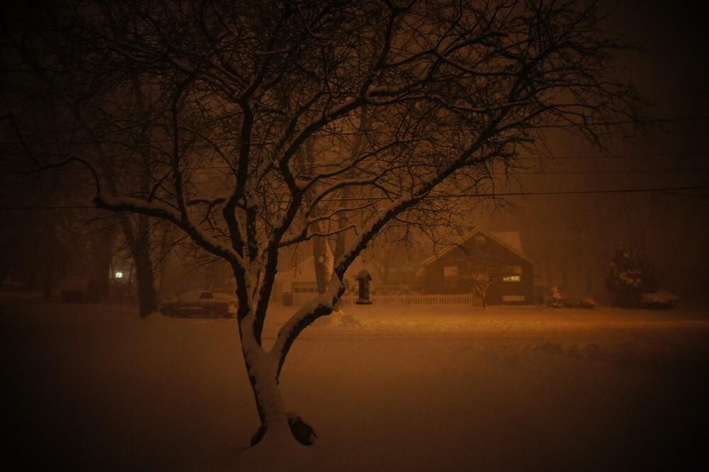 Snowstorm on Nowlen by laurelkeeley