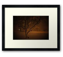 Snowstorm on Nowlen Framed Print