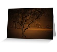 Snowstorm on Nowlen Greeting Card