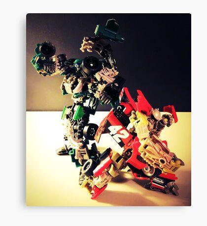 Transformers RoadBuster & Leadfoot Canvas Print
