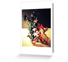 Transformers RoadBuster & Leadfoot Greeting Card