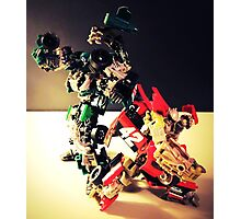 Transformers RoadBuster & Leadfoot Photographic Print