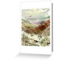 Soaring in the Hills Greeting Card