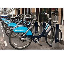 Boris Bike Photographic Print