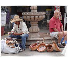 The Trader And The Tourist - El Comerciante Y El Turista Poster
