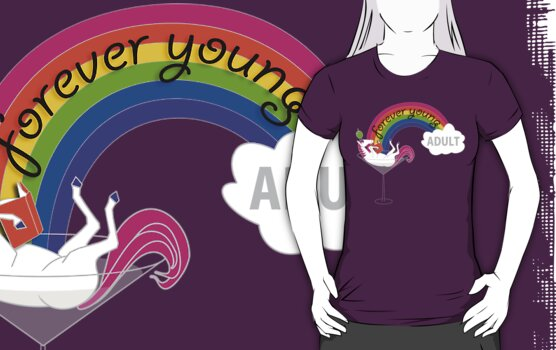 Forever Young Adult Official Tee by 4everYA
