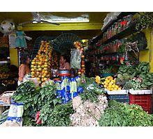 All This Fresh Vegetables... - Todas Estas Frutas Y Verduras Photographic Print