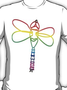 Rainbow Dragonfly T-Shirt