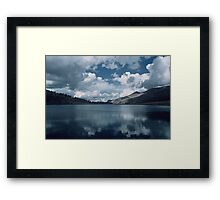 Glacial Lake, Yosemite National Park Framed Print