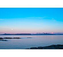 Seascape, Dawn, Islands, Inner Hebrides, Scotland,  Photographic Print