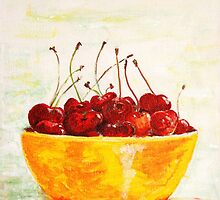 cherries by Nirsha