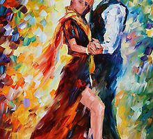 ROMANTIC TANGO - LEONID AFREMOV by Leonid  Afremov