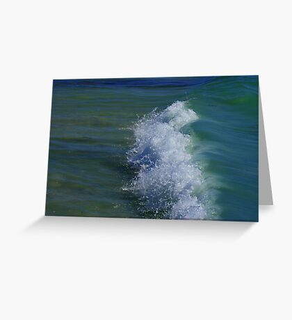 The Silent Wave Greeting Card