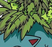 Stoned Bulbasaur Sticker