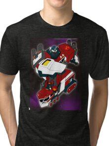 Robot Convertor Optimum Overload Tri-blend T-Shirt