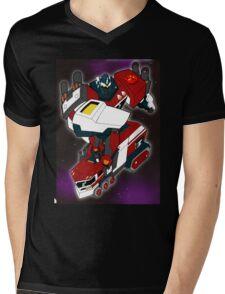 Robot Convertor Optimum Overload Mens V-Neck T-Shirt