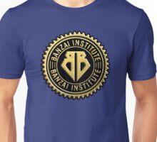 Buckaroo Banzai Institute Gear Logo Gold Seal Unisex T-Shirt