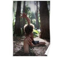 Forest Yoga Poster