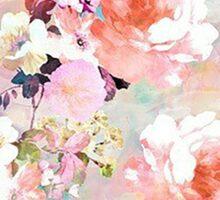 pastel roses Sticker